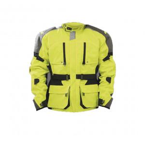 Защитная мотоциклетная куртка Air Bag Jacket Touring HV Talla L жёлтая