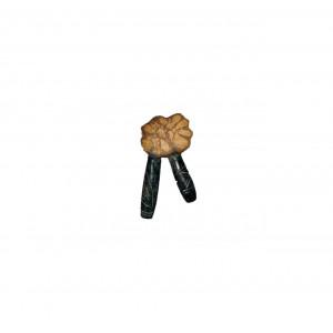 Трубка для Рапе (рапэ) ShamanShop Курипи Айяауаска-камень (Kuripe) К115