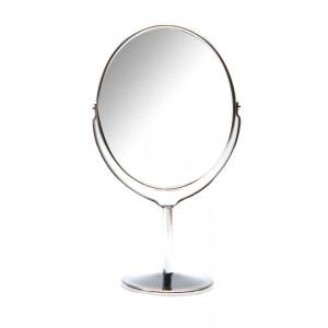 Зеркальце овальное ShamanShop настольное металл (19х10,8х7 см) 23685