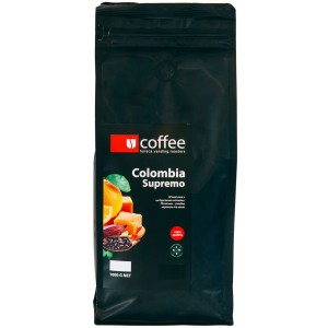 Кофе зерновой Ucoffee Colombia Supremo 100% Арабика 1 кг