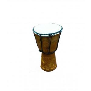 Барабан ShamanShop джембе резной дерево с кожей (20х11х11 см) К30249