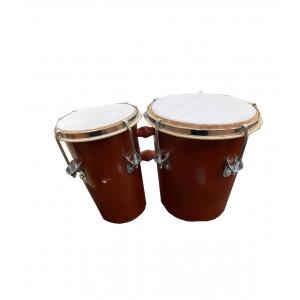 Барабан ShamanShop двойной Бонго (29х14х17см.) К2737