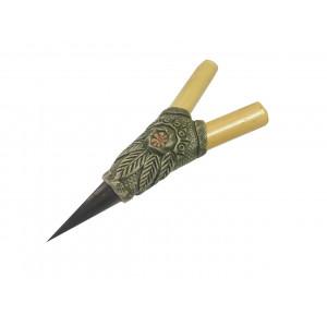 Трубка для Рапе (рапэ) ShamanShop Курипи Бамбуковое с айяауаской и костью